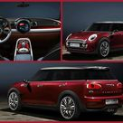 Not so Mini Mini  The new Mini Clubman concept – from March 6 to 16, 2014. The new Clubman is just 26 cm longer than the one it's replacing, and at less than 14 feet long, it's about a foot longer than the smallest Mini. The Clubman's based on the gorgeous new 2014 Mini Cooper, and, funnily enough, has six doors. That's four real doors and double doors at the back to access your luggage. Hmm. Don't see the point, really. #MiniCopper #motoring #Geneva #Clubman #latestcar #conceptcar