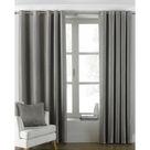 Riva Home Atlantic Eyelet Ringtop Curtains (Gray) (90 x 54in)