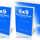 6x9 Paperback Book Mockup  PS Action pagecoverdefaultproject