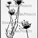 Queen Anne's Lace Stencil | Cecilia Swatton | StencilGirl Products