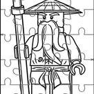 Lego Ninjago Puzzles para Imprimir para Niños 7