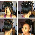 Mixed Hairstyles