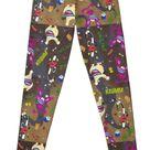 Aaahh!!! Real Monsters Ickis Oblina Krumm Nickelodeon Leggings by AbbysRadArt