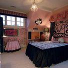 Pink Black Bedrooms