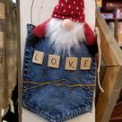 Jean Pocket Valentine Decor