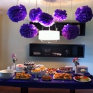 Purple Bridal Showers