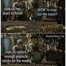the maze runner funny pics