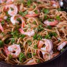Shrimp Scampi With Pasta