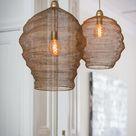Hanglamp NIKKI - Gaas - Antiek-Brons - Hanglamp