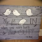 Painted Wooden Signs