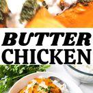 Indian butter chicken (murg makhani) recipe