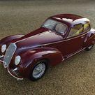 Alfa Romeo 6C2500 Sport Berlinetta 1939. Fotos de Tom Wood, cortesía RM Auctions.