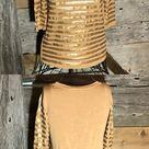 Joe Fresh matte gold sequin top size xs