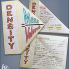 FREE Density Interactive Notebook Science Doodle BUNDLE   Science Notes