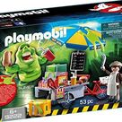 PLAYMOBIL Slimer with Hot Dog Stand - Multi