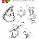 Free printables and wonderful activities from none other than the Grinch
