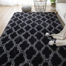 Rugs For Living Room or Bedroom / Super Soft Nordic Fluffy - DH-4 / 100x200cm