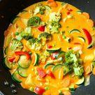 Curry mit Reis und Gemüse - Madame Cuisine