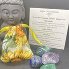 Boost Your Immune System - Crystal Collection to Boost Immune Function - Reiki Healing Energy Infused & Charged Crystals with Carrying Pouch