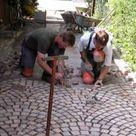 Natursteinpflaster verlegen   Galabau Mähler   Natursteinpflaster