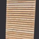 Sichtschutz   Moderner Sichtschutzzaun aus sibirischer Lärche   Holz im Garten   Store für Holzzaun und Terrasse