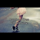 Dress With Converse