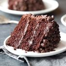 Blackout Chocolate Cake   Pinch of Yum