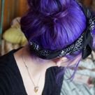 DIY Hair: 10 Purple Hair Color Ideas
