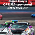 James Clay's OPTIMA-sponsored BMW M240iR