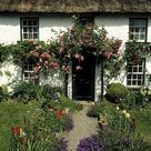 Thatched Cottage, Carlingford, Co by The Irish Image Collection