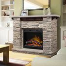 Featherston Electric Fireplace Mantel Package - GDS28L8-1152LR