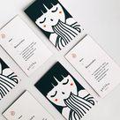 Yoisho Ramen Business Card   Business Card Design Inspiration