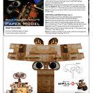 Disney's Official Wall-E Papercraft