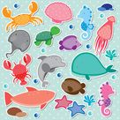 Under the sea clip art stock vector. Illustration of childlike   30293259