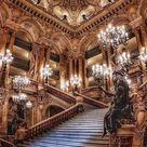 Aesthetic Europe summer bucket list place .Opera Garnier, Paris