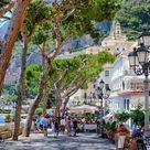 Amalfi in Italien, eine hübsche kleine Stadt