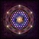 Purple Flower of Life by Lilyas on DeviantArt