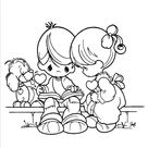 Precious Moments 1 (16) Coloring Page for Kids - Free Precious moments Printable Coloring Pages Online for Kids - ColoringPages101.com | Coloring Pages for Kids