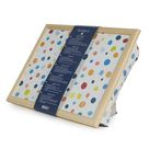 Bean Bag Cushioned Wooden Frame Lap Tray in Multi Spots