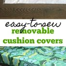 easy-to-sew removable cushion covers - My French Twist