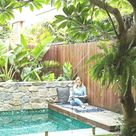 53 Minimalistischer kleiner Pool mit schönem Garten,  #Garten #kleiner #Minimalistischer #mit...