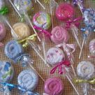 Washcloth Lollipops