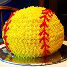 Softball Birthday Cakes