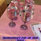 Yalemichelle's pop-up shop table