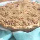 Sour Cream Dutch Apple Pie