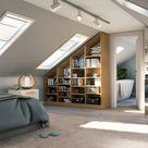 Dachschrägen-Regal für dein Schlafzimmer