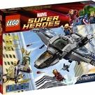 LEGO Marvel Super Heroes Avengers Quinjet Aerial Battle Set 6869