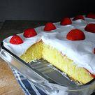 Strawberry Poke Cakes