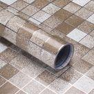 Generico Impermeable papel tapiz marroquí azulejo autoadhesivo