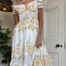 Kiss The Sky - Kiss The Sky Versailles Floral Maxi Dress